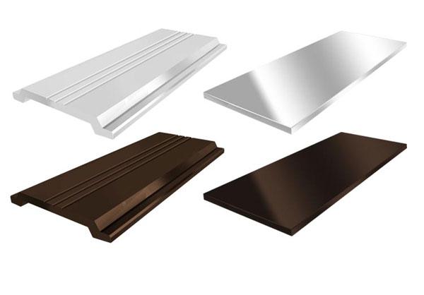 Алюминиевые прижимные полосы АППФ 30  бронзовый